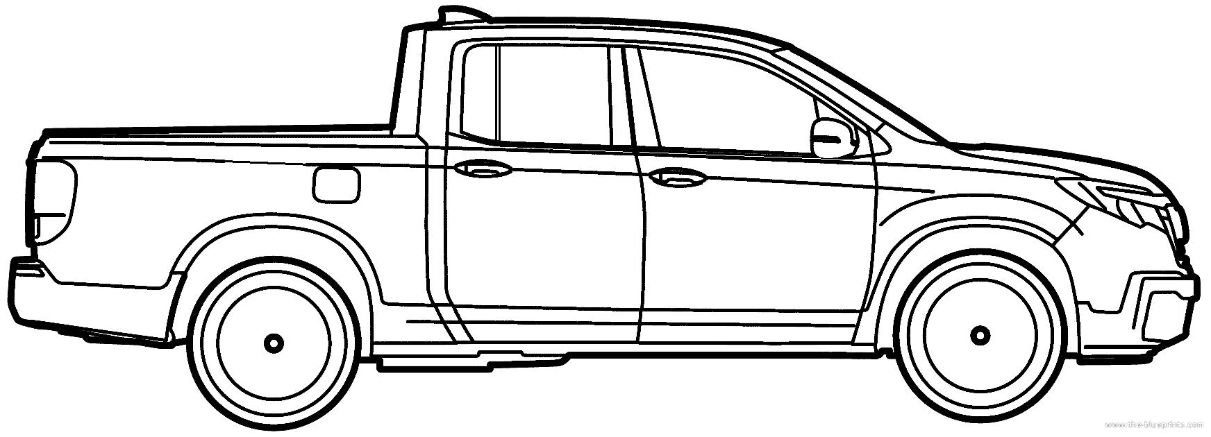 blueprints  u0026gt  cars  u0026gt  honda  u0026gt  honda ridgeline  2017