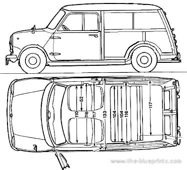INNOCENTI MINI * /> intégrale AUTOPLANE Garage Pliable Voiture Capot Auto