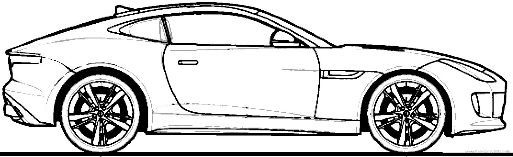 ... .com - Blueprints > Cars > Jaguar > Jaguar F-Type Coupe (2014