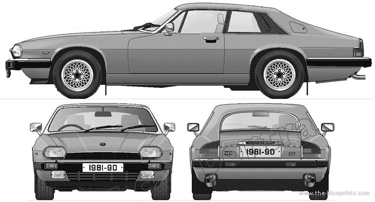 Jaguar XJ-S HE (1981)