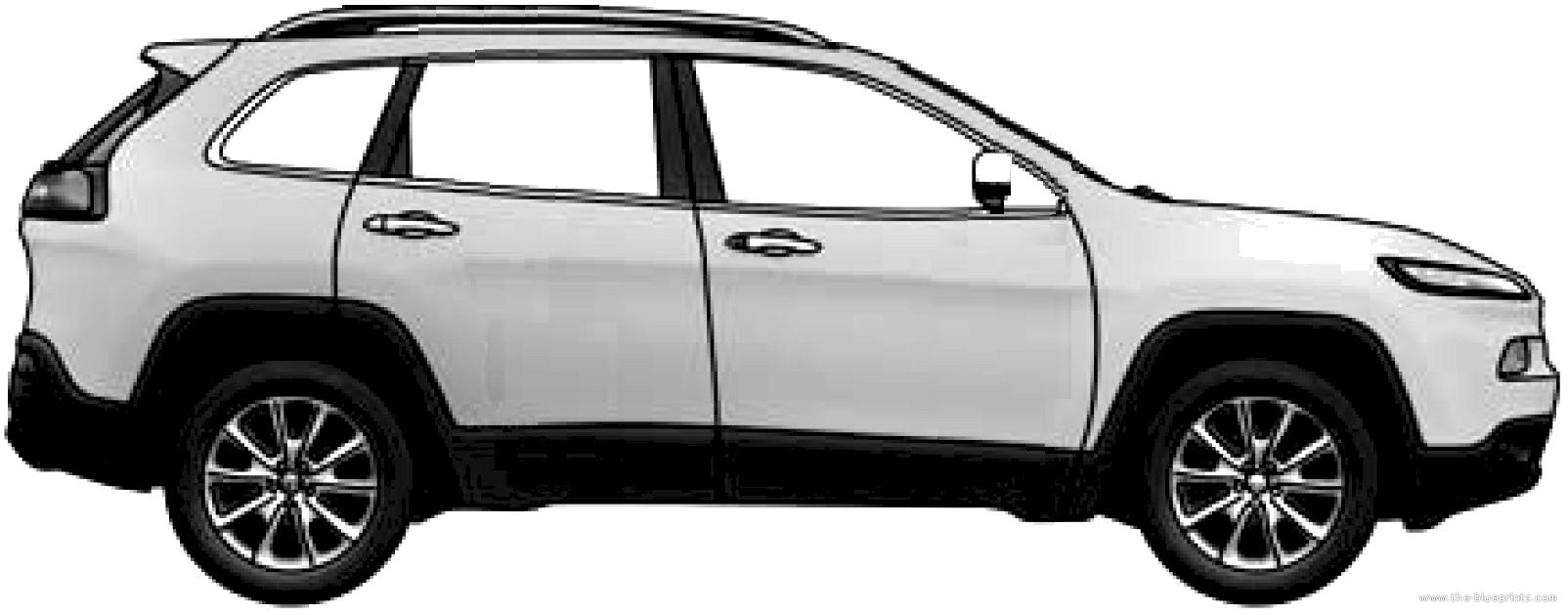the-blueprints - blueprints > cars > jeep > jeep cherokee (2013)