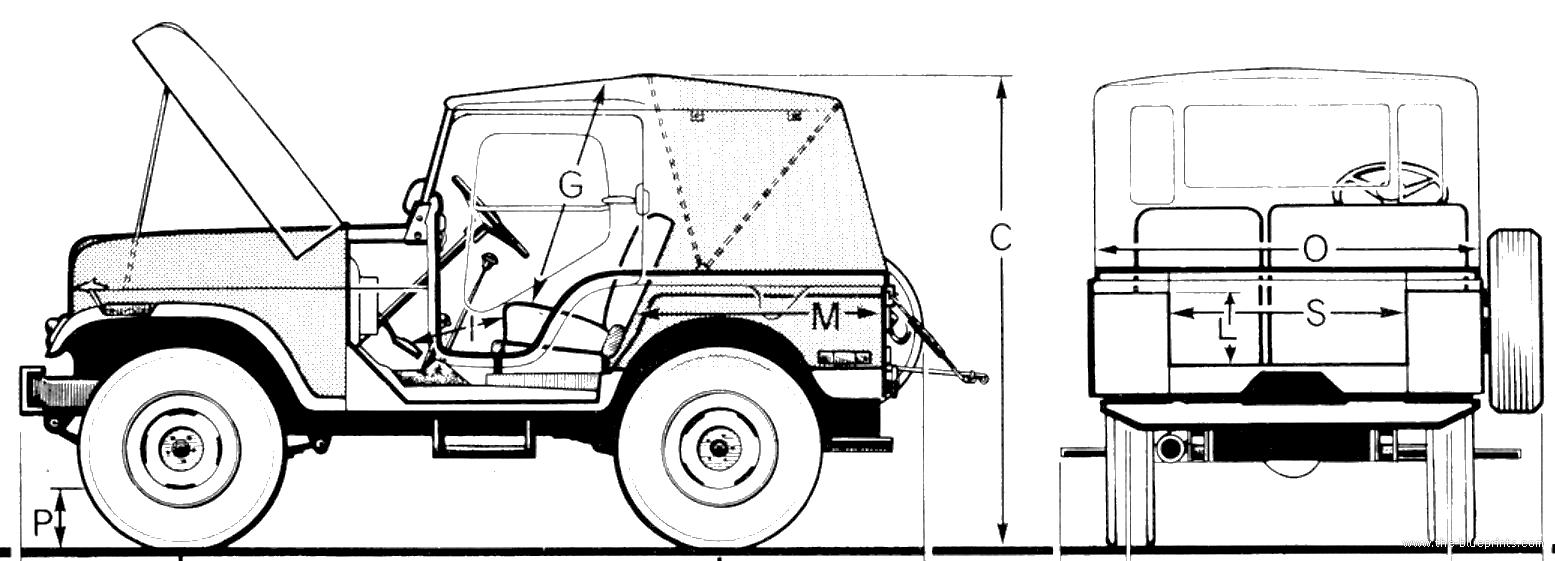 blueprints  u0026gt  cars  u0026gt  jeep  u0026gt  jeep cj5  1974