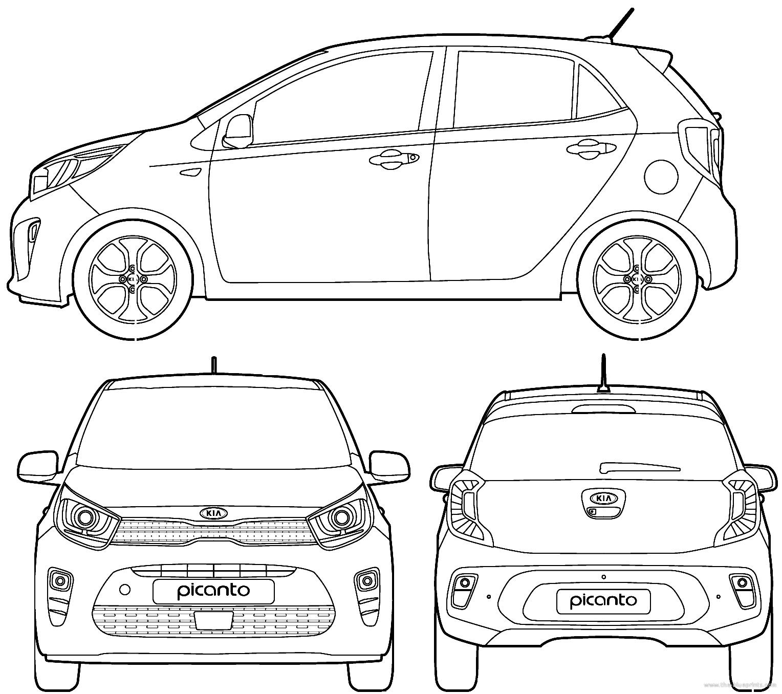 blueprints  u0026gt  cars  u0026gt  kia  u0026gt  kia picanto  2017