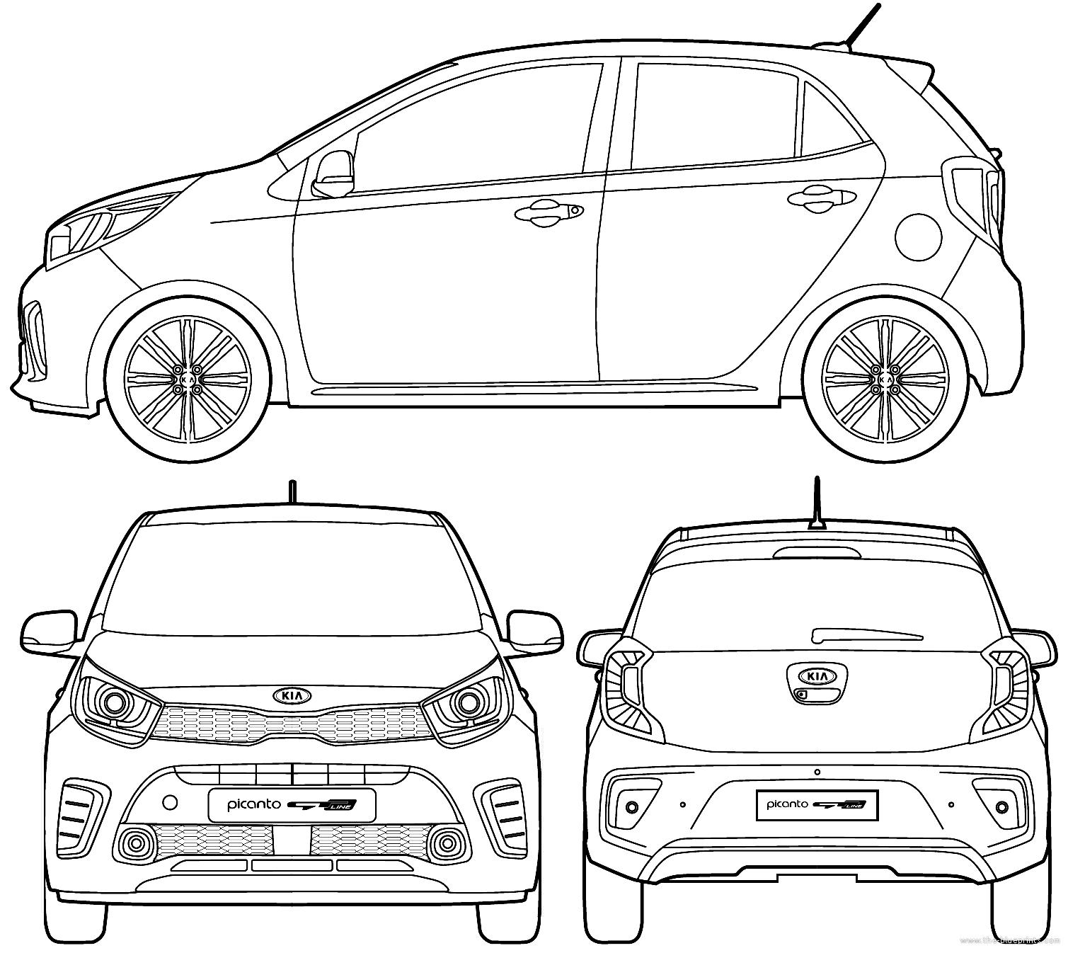 blueprints  u0026gt  cars  u0026gt  kia  u0026gt  kia picanto gt  2017