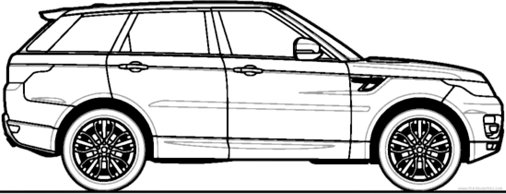 blueprints  u0026gt  cars  u0026gt  land rover  u0026gt  range rover sport tdv6 se