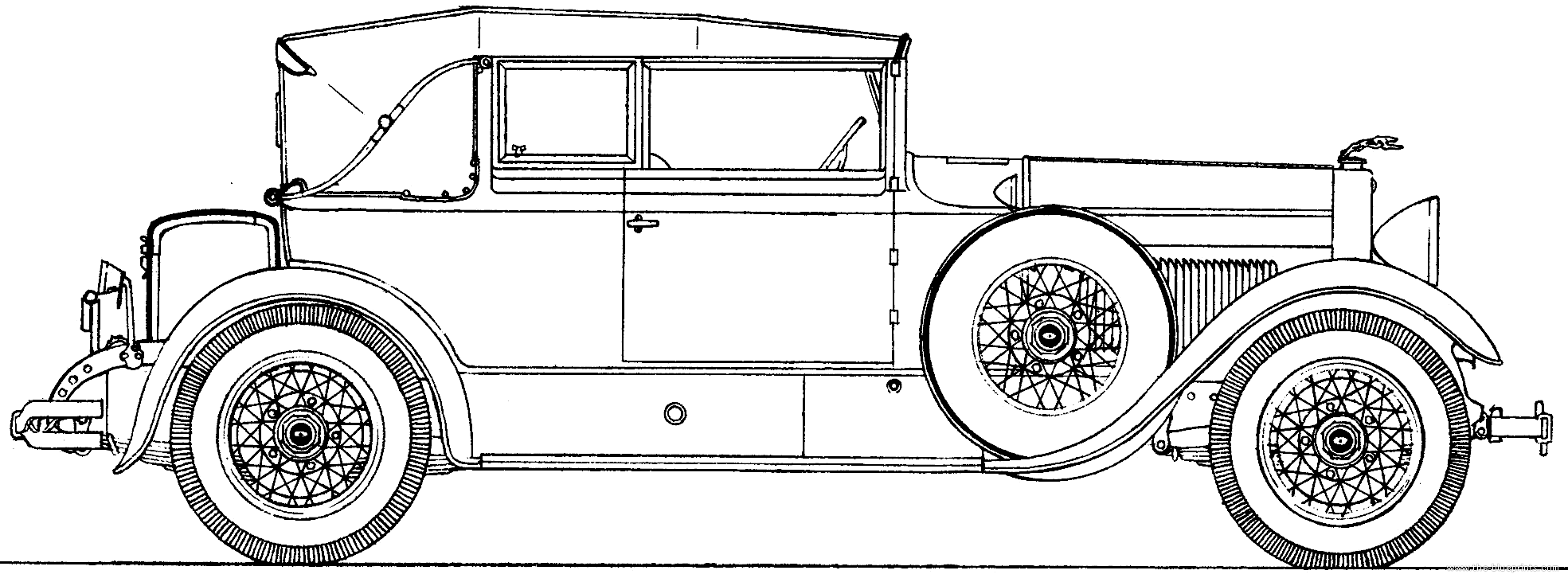 Blueprints > Cars > Lincoln > Lincoln Model L (1928)