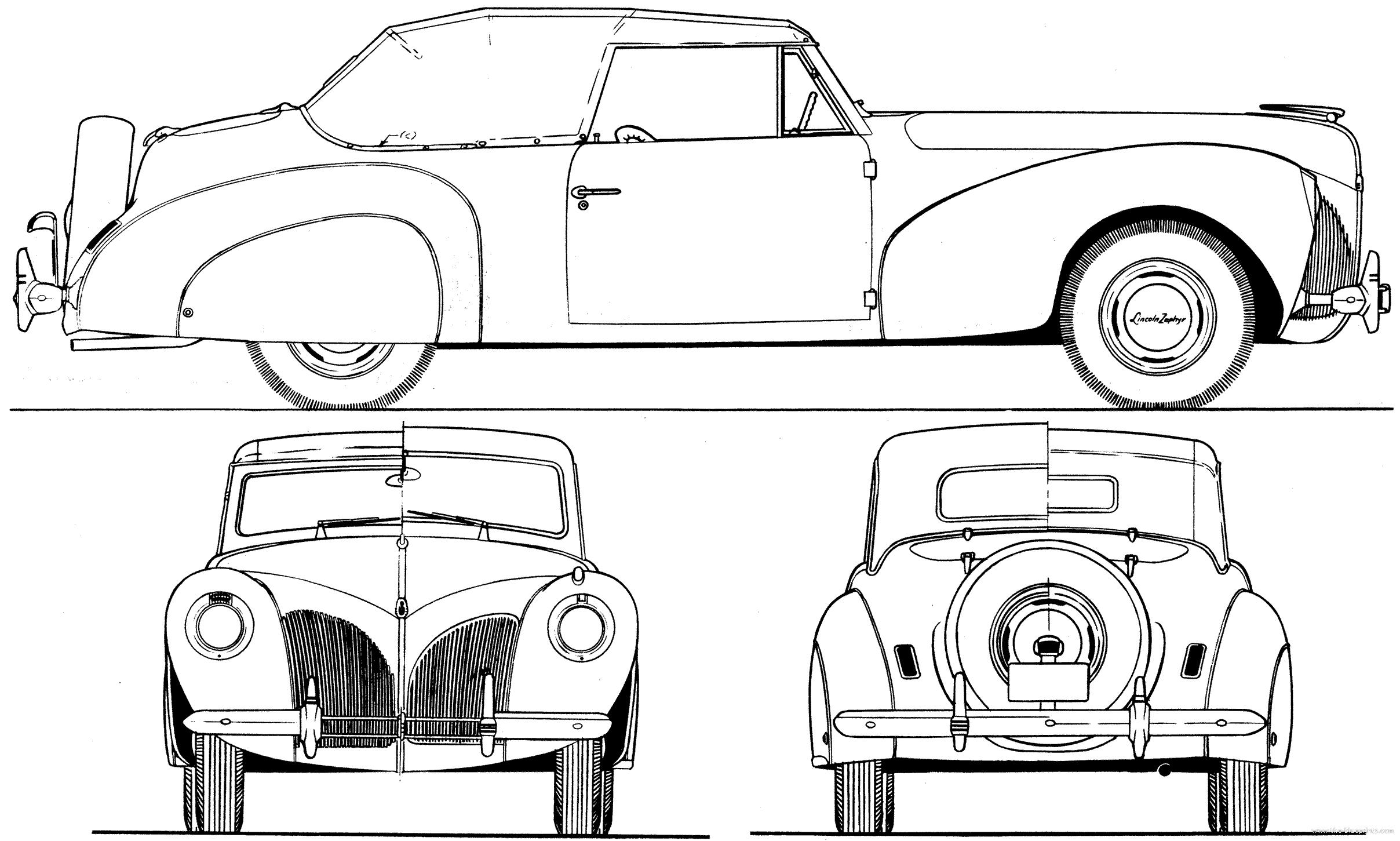Cars Hudson Hornet Kleurplaat The Blueprints Com Blueprints Gt Cars Gt Lincoln Gt Lincoln