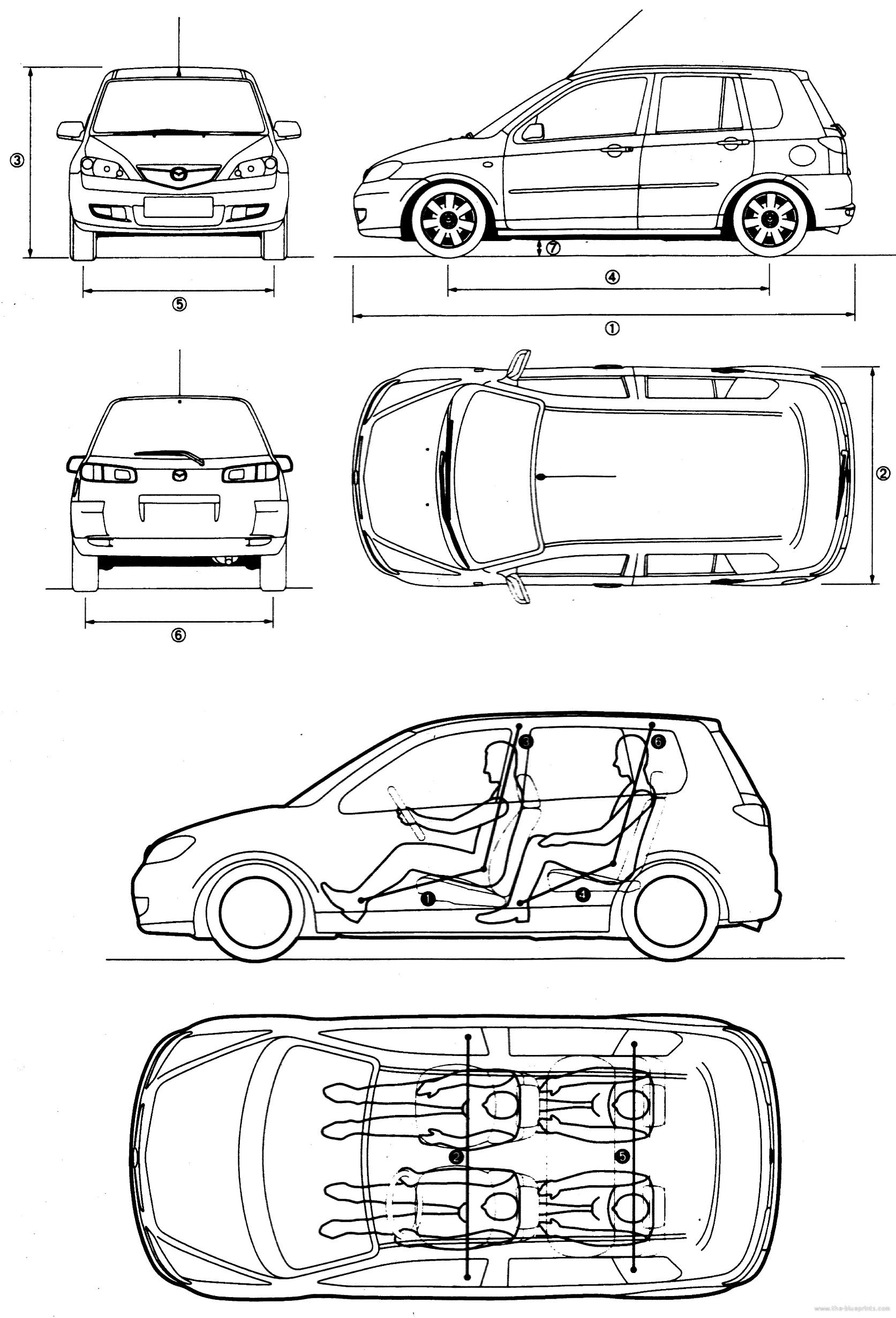 blueprints  u0026gt  cars  u0026gt  mazda  u0026gt  mazda 2 5