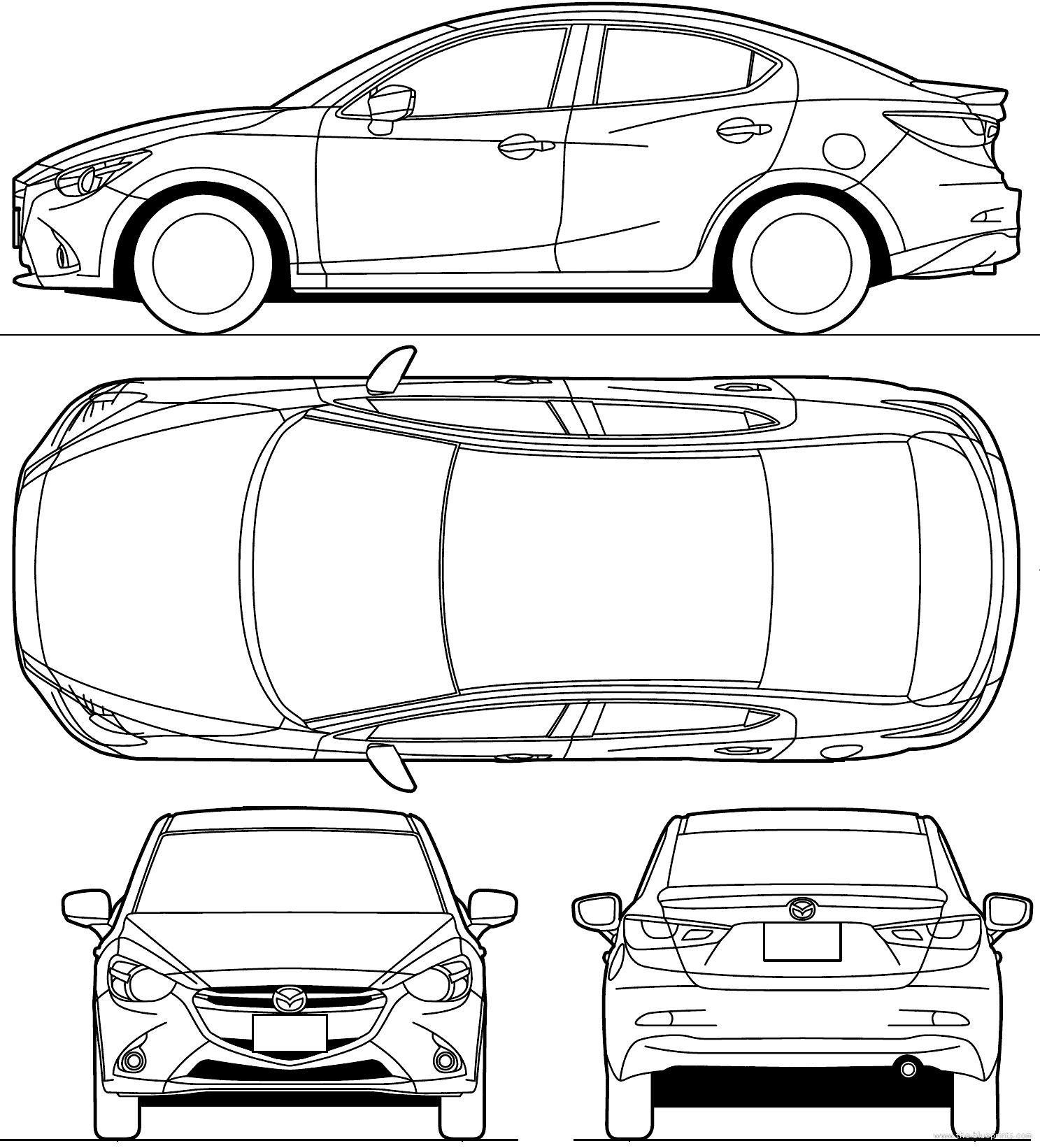 Blueprints cars mazda mazda 2 demio 2015 mazda 2 demio 2015 malvernweather Gallery