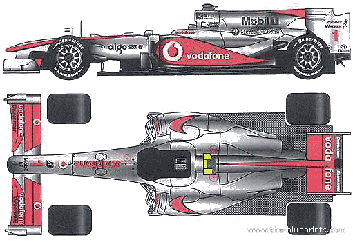 vector requests - mclaren mp4-25 f1 gp (2010)