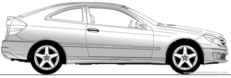 Blueprints cars mercedes benz mercedes benz c class for Mercedes benz in greenville sc