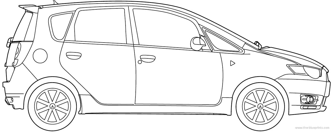 blueprints  u0026gt  cars  u0026gt  mitsubishi  u0026gt  mitsubishi colt  2013