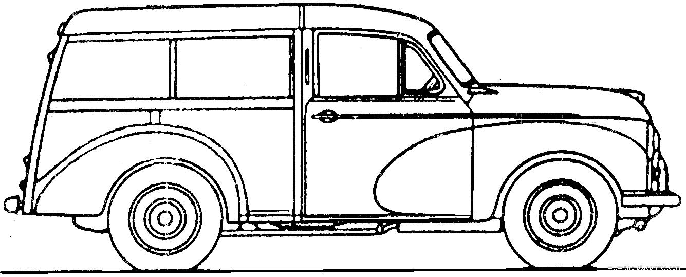morris minor traveller 1956 765526