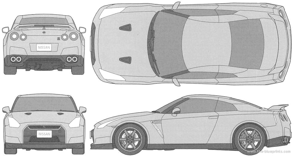 Famous Lamborghini Cabriolet Blueprint Illustration - Electrical ...