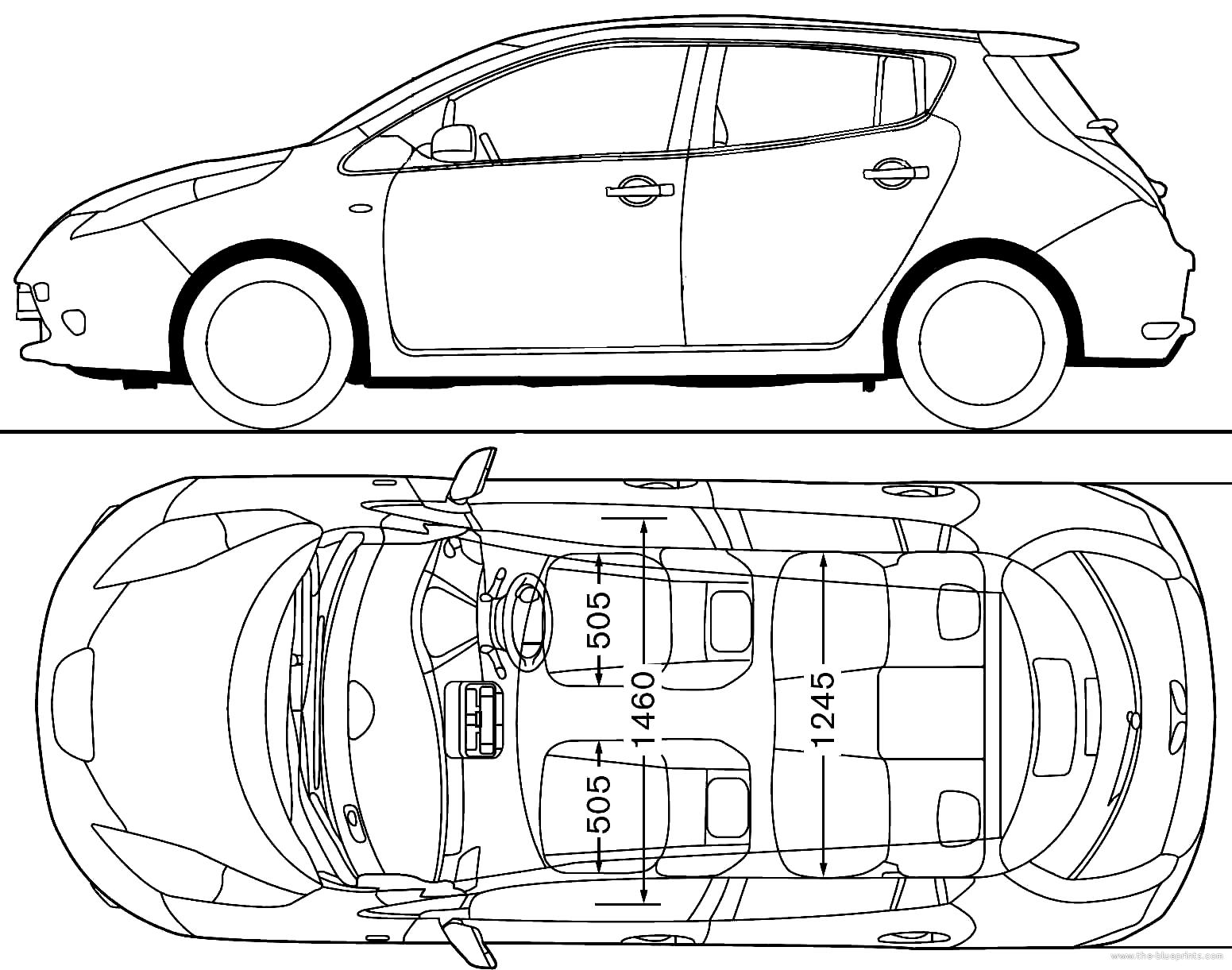 The blueprints blueprints cars nissan nissan leaf 2011 nissan leaf 2011 vanachro Choice Image