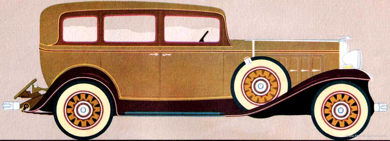 The blueprints cars oldsmobile for 1932 oldsmobile 4 door
