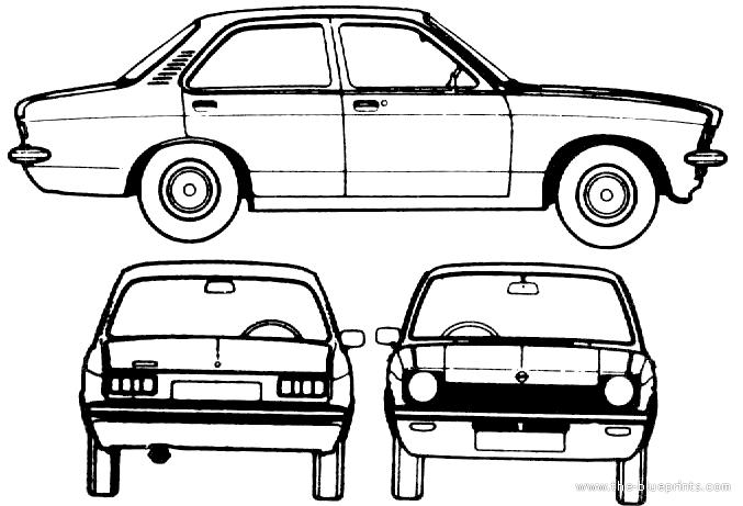 opel kadett cars