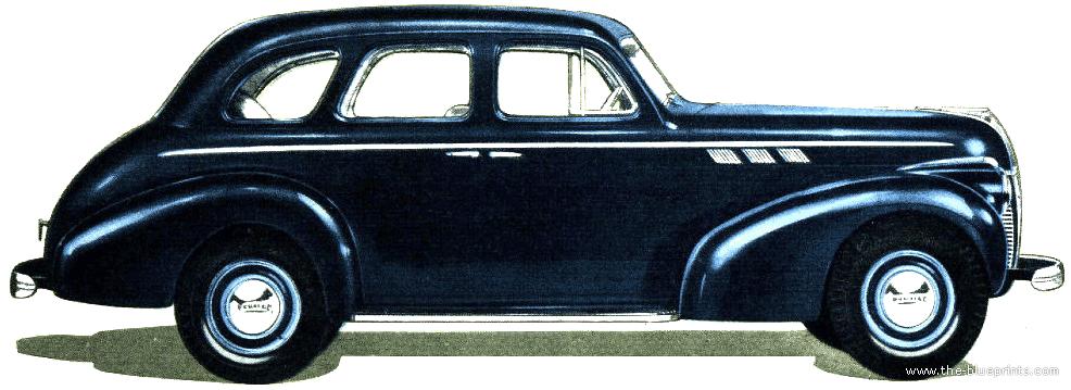The blueprints cars pontiac pontiac for 1940 pontiac 2 door sedan