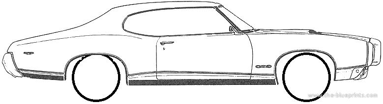 blueprints \u003e cars \u003e pontiac \u003e pontiac gto 2 door hardtop (1969)pontiac gto 2 door hardtop (1969)