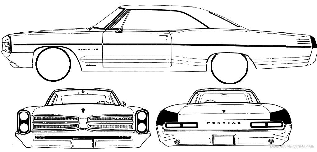 Pontiac Star Chief Executive 2 Door Hardtop 1966