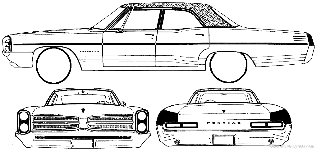 Pontiac Star Chief Executive 4 Door Sedan 1966