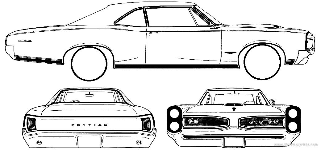 blueprints  u0026gt  cars  u0026gt  pontiac  u0026gt  pontiac tempest gto 2