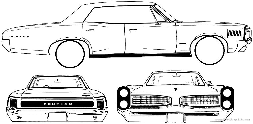 blueprints  u0026gt  cars  u0026gt  pontiac  u0026gt  pontiac tempest le mans 4
