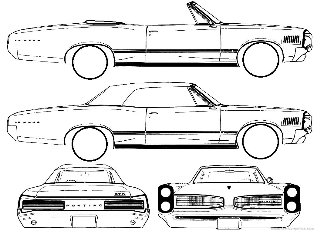 blueprints  u0026gt  cars  u0026gt  pontiac  u0026gt  pontiac tempest le mans