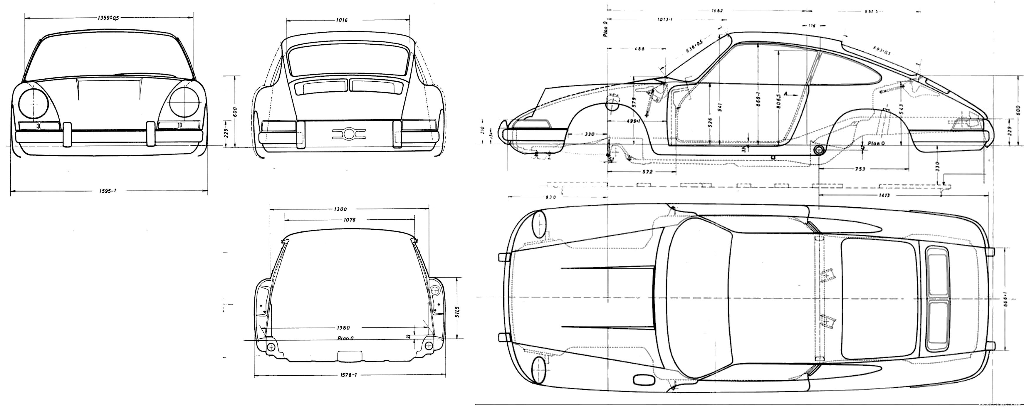 Porsche 911 Duraflex Eros Version 2 Hood 1 Piece 109001