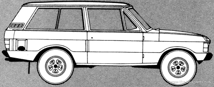 Blueprints cars range rover range rover 35 v8 2 door 1981 range rover 35 v8 2 door 1981 malvernweather Choice Image