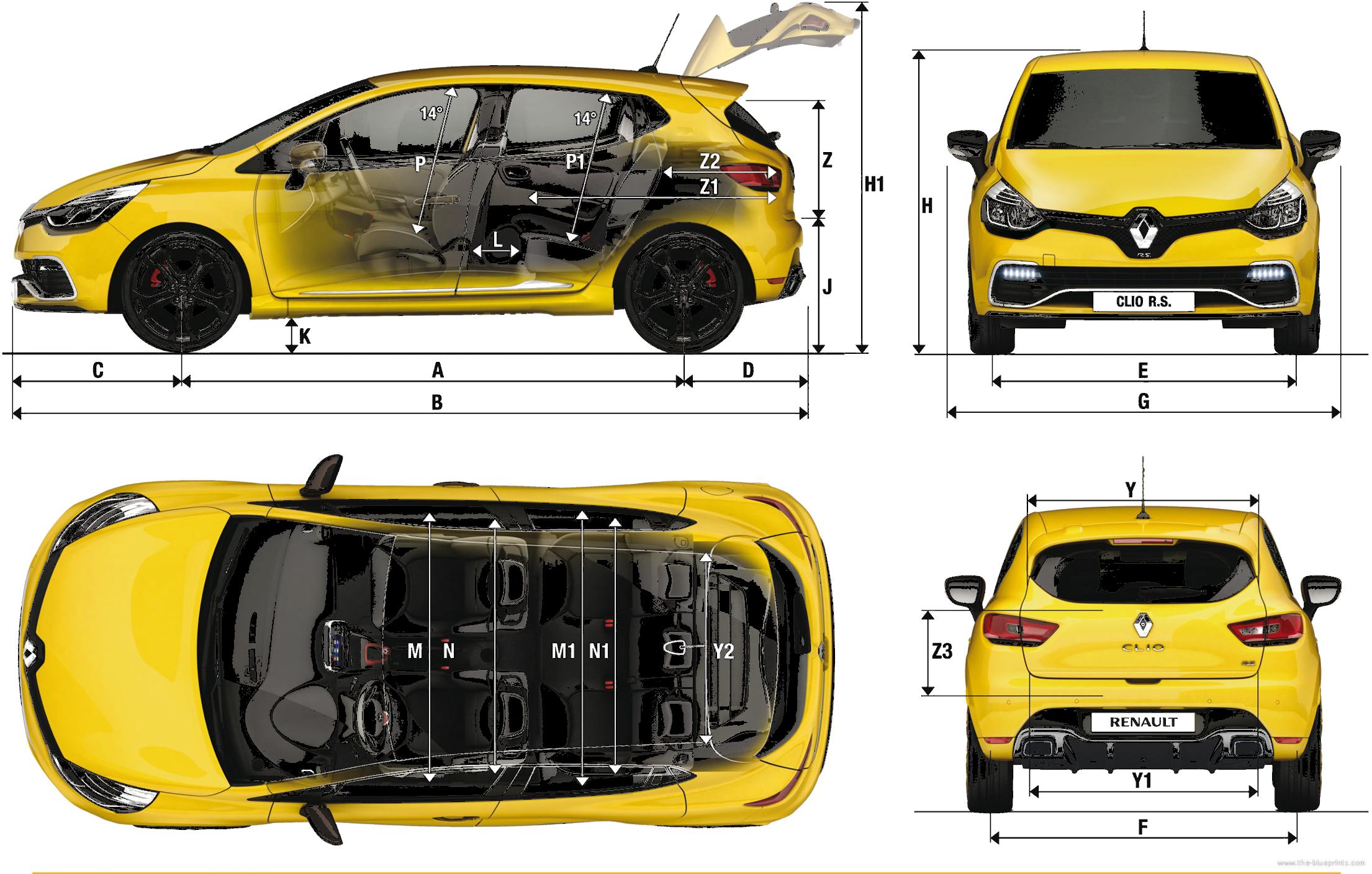 renault clio dimensions car reviews 2018. Black Bedroom Furniture Sets. Home Design Ideas