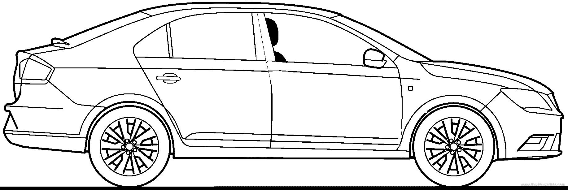 Blueprints cars seat seat toledo 2013 seat toledo 2013 malvernweather Images
