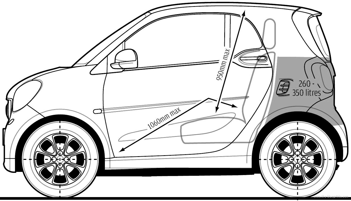 the blueprints cars smart smart fortwo 2015. Black Bedroom Furniture Sets. Home Design Ideas