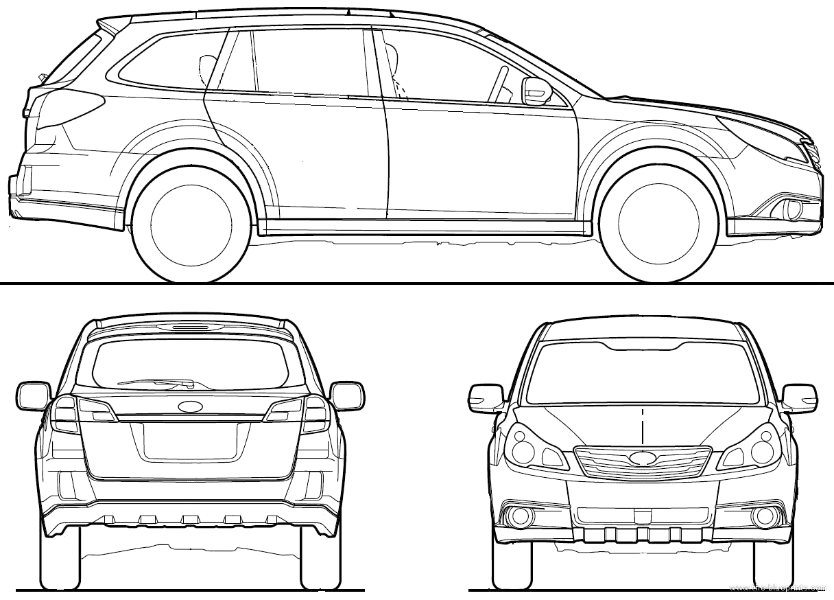subaru outback coloring pages - photo#17