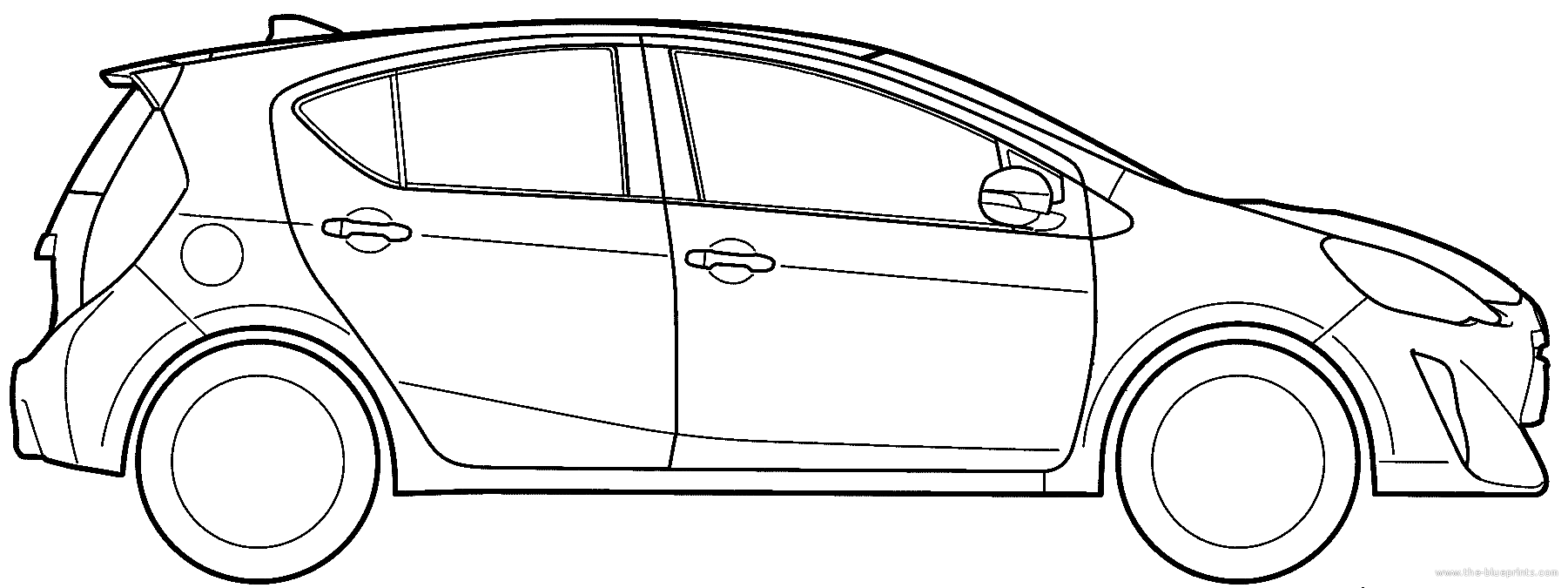 blueprints cars toyota toyota aqua 2014 Toyota 2 Door Cars toyota aqua 2014