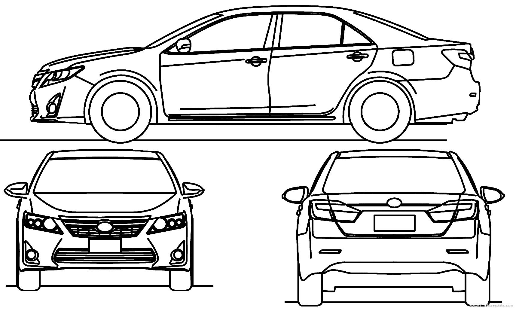 blueprints  u0026gt  cars  u0026gt  toyota  u0026gt  toyota camry  2013