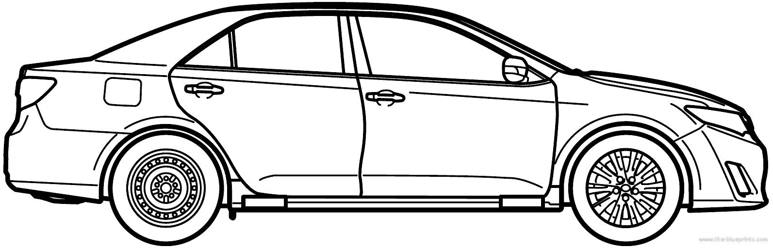 blueprints u003e cars u003e toyota u003e toyota camry 2014 rh the blueprints com Toyota Certified Logo Toyota Logo Meaning