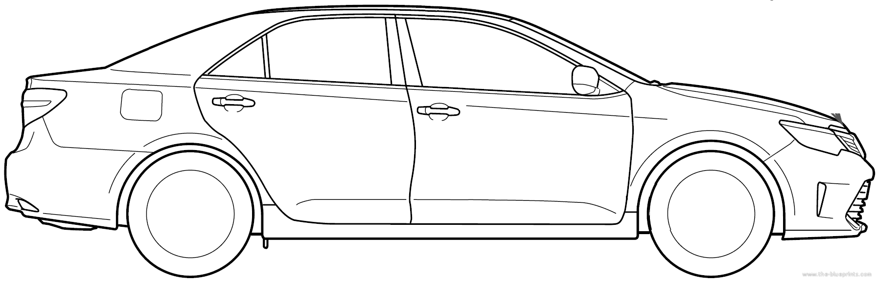 The blueprints blueprints cars toyota toyota camry 2015 toyota camry 2015 malvernweather Image collections