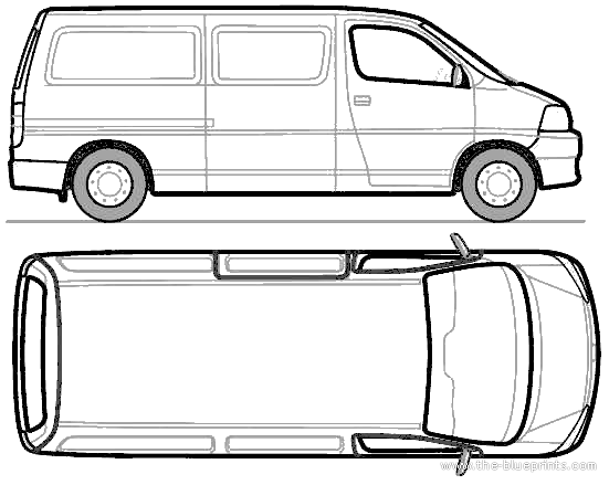 New Dimensions Of Toyota Hiace Van