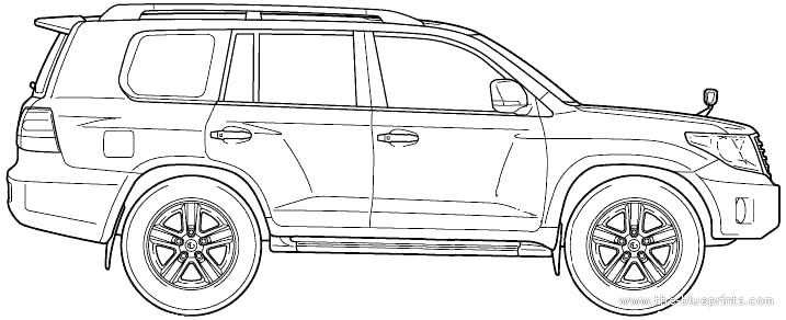 blueprints  u0026gt  cars  u0026gt  toyota  u0026gt  toyota land cruiser 200 v8  2012