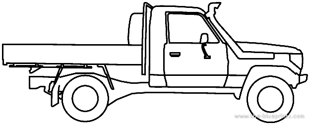 blueprints  u0026gt  cars  u0026gt  toyota  u0026gt  toyota land cruiser 70 au  2012