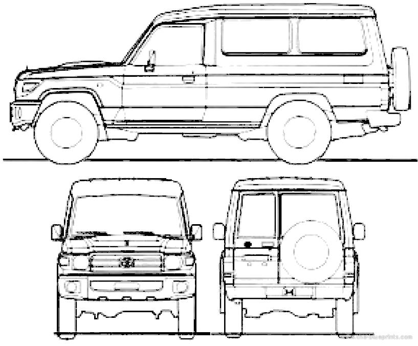 blueprints  u0026gt  cars  u0026gt  toyota  u0026gt  toyota land cruiser 70 estate