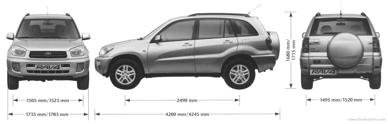 2002 Rav4 Dimensions >> 2002 Rav4 Dimensions Best Information Of New Car Release