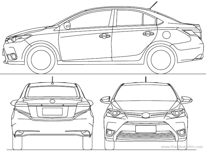 blueprints  u0026gt  cars  u0026gt  toyota  u0026gt  toyota yaris sedan  2015