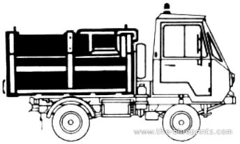 IFA Multicar 2551 (1982)