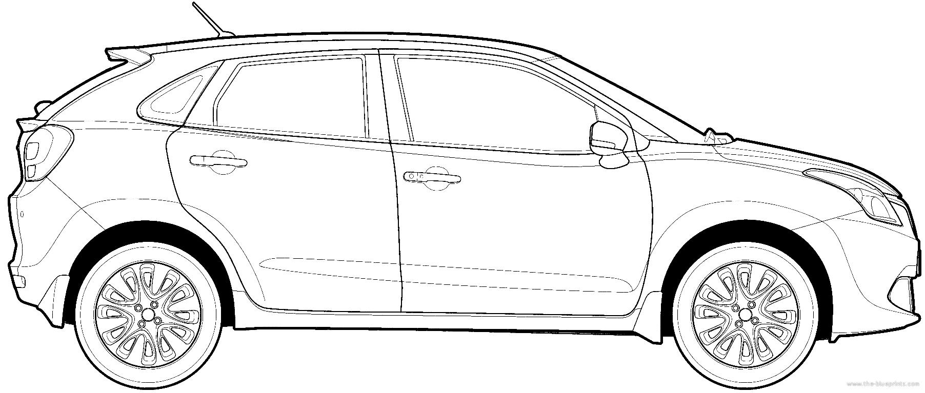 .com - Blueprints > Cars > Various Cars > Maruti Suzuki Baleno (2015