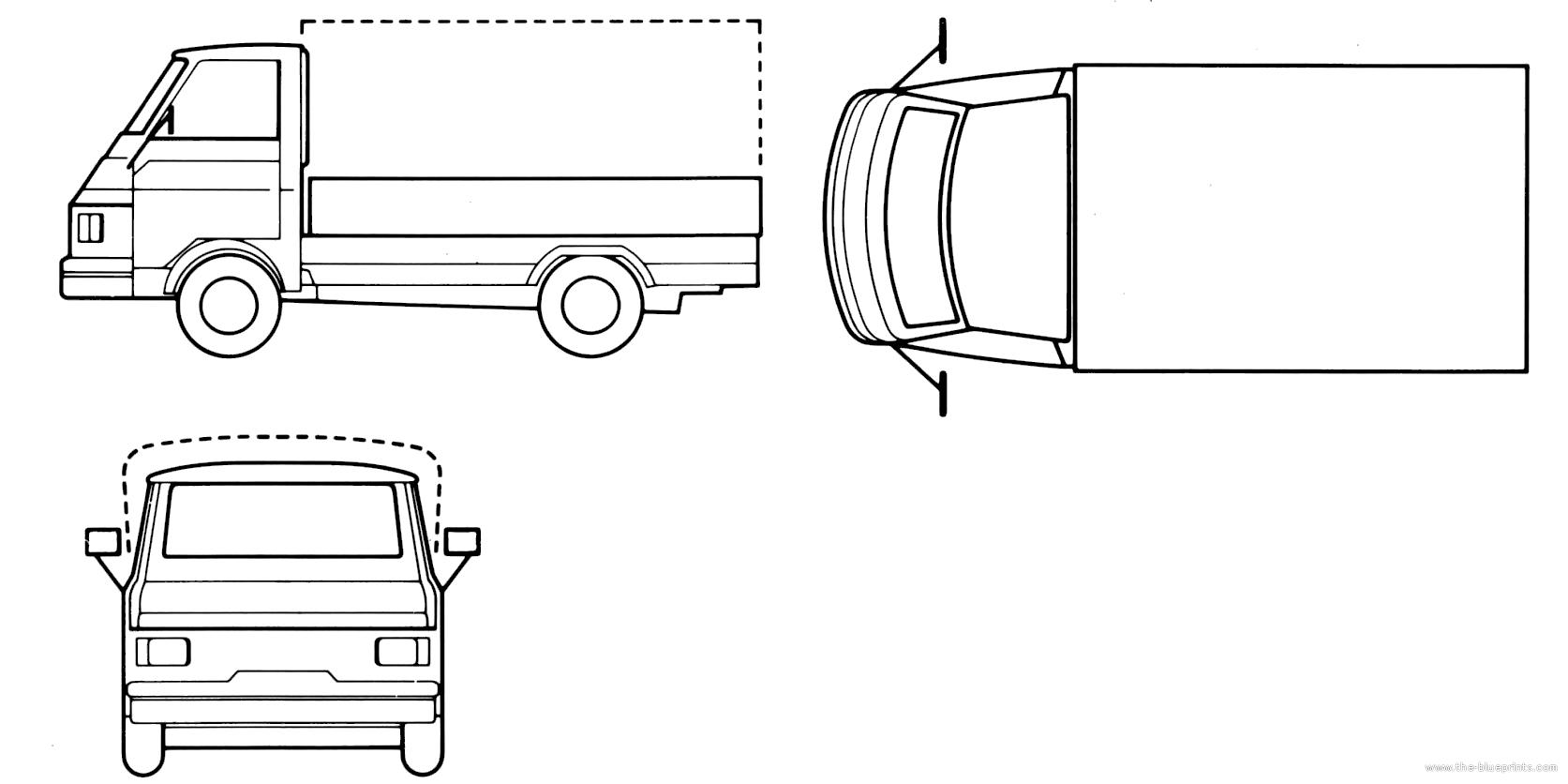 the-blueprints - blueprints > cars > various cars > piaggio