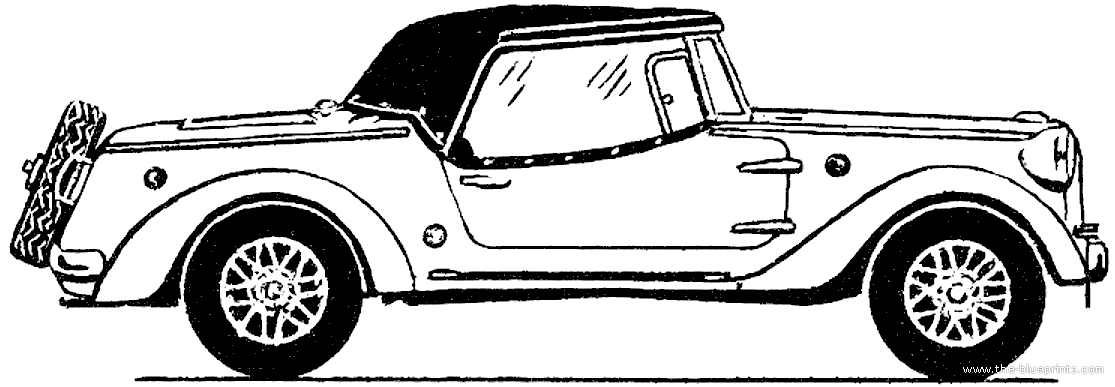 Blueprints Cars Various Siata Spring 1968