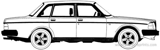 Vector Requests - Volvo 240 GLT Turbo (1985)