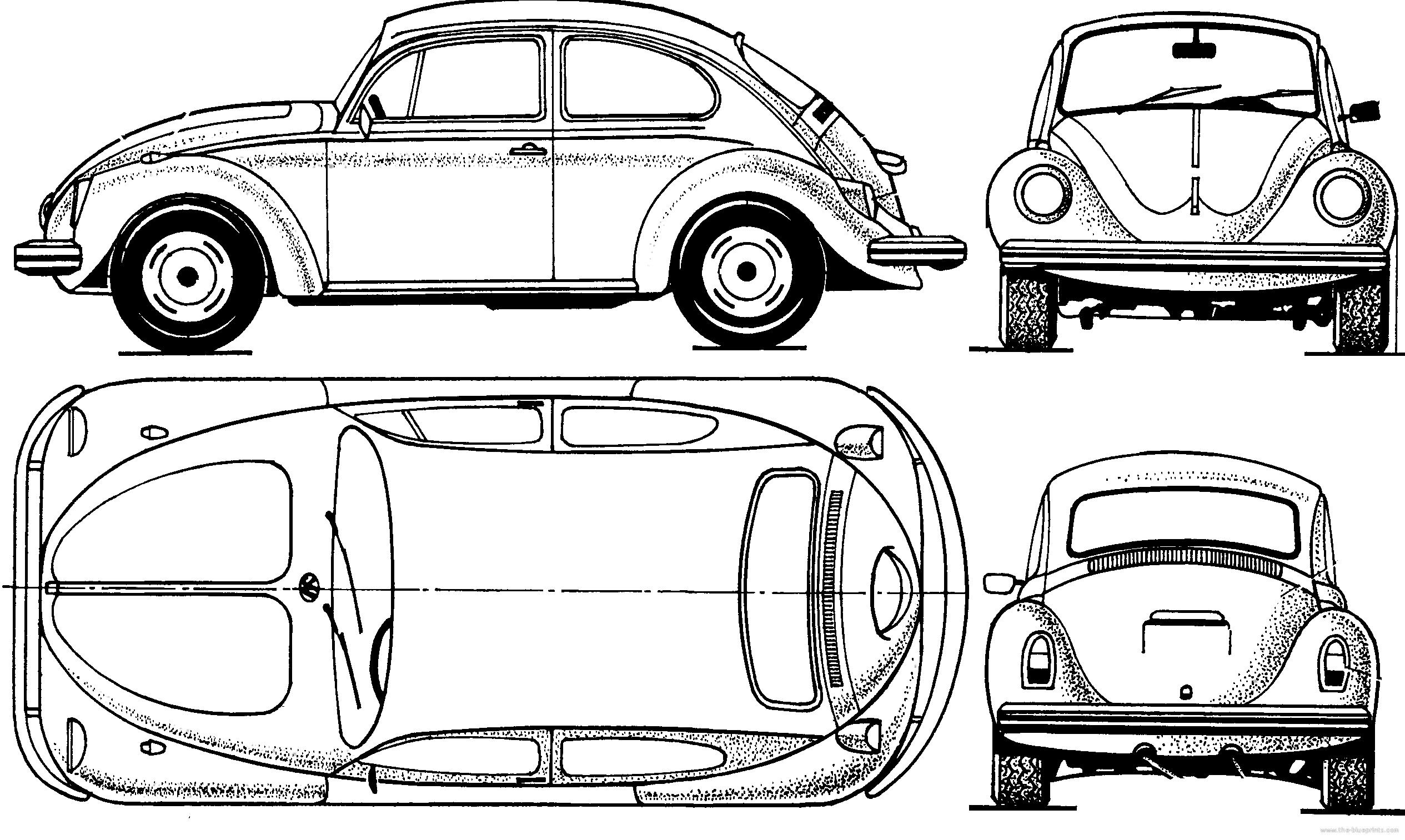 blueprints  u0026gt  cars  u0026gt  volkswagen  u0026gt  volkswagen beetle 1300  1970
